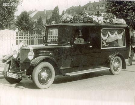 Bestattungen Sechtem, Brühl - Opel Adler