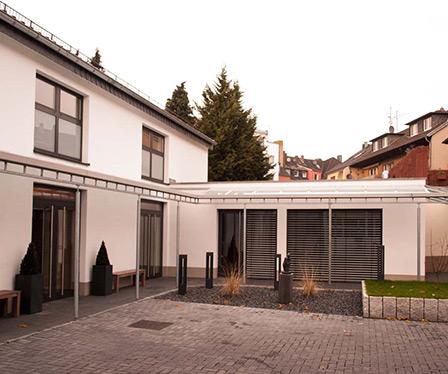 Bestattungen Sechtem, Brühl - Nach Umbau des Firmengeländes in 2013